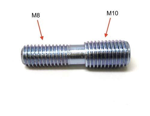 M10 Universal Auspuff Kr/ümmer Stehbolzen Adapter M8