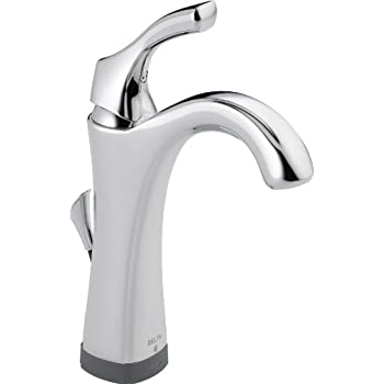 Delta 538T-DST Lahara Single Handle Bathroom Faucet with Touch2O ...