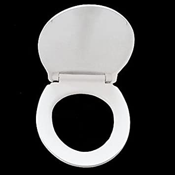 Small Round White Soild Toilet Seat  Amazon Co Uk Sports Outdoors