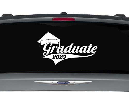 multi color or reflective 3 6-22 Graduation Class of 2020 Decal Sticker for car window or bumper sticker