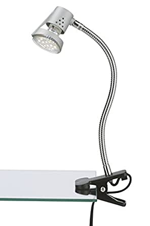 Briloner 2606-010 - Lámpara con pinza (con 1 luces LED GU10), color titanio