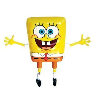 New Inflatable Spongebob Squarepants official disney character Kids toy 60cmtall by ()