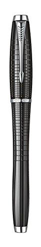 Parker Urban Premium Ebony Metal Chiseled, Fountain Pen, Medium nib with Blue ink (S0911470) by Parker (Image #3)