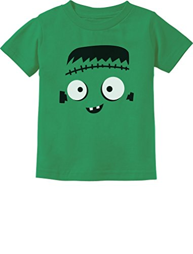 Halloween Shirts For Toddlers - TeeStars - Monster Face Halloween Costume Toddler Kids T-Shirt 3T Green