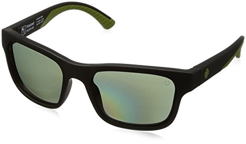 HUNT MATTE BLACK OLIVE - HAPPY GRAY GREEN - Hunt Spy Sunglasses
