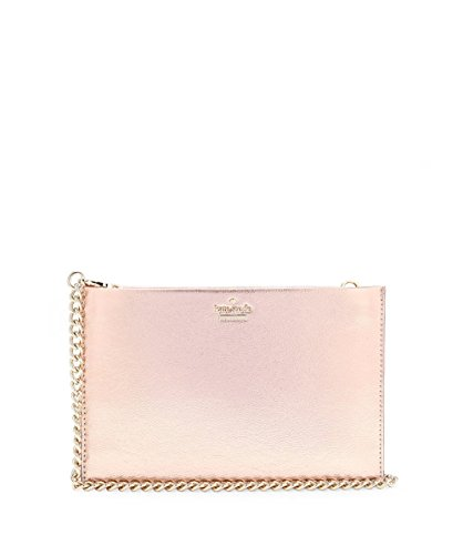 Kate Spade New York Women's Highland Drive Mini Sima Clutch, Rose Gold, One Size