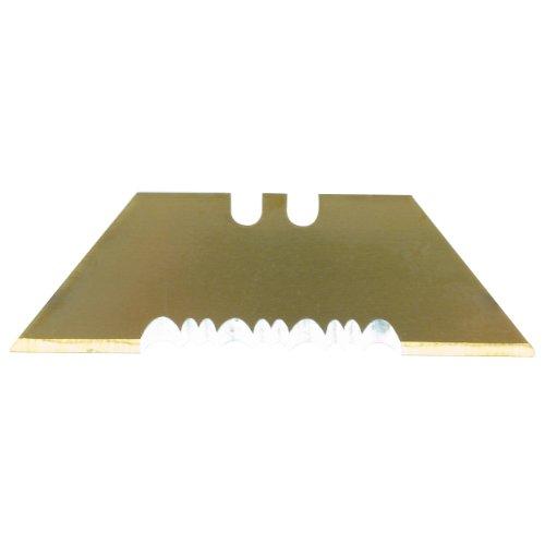 Olympia Tools UB8200CP Titanium Serrated Utility Blades, 5-Piece