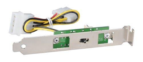 Lian Li 3-Speed PCI-Slot Fan Speed Controller PT-FN02 Silver