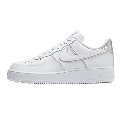 Nike Air Force 1 White - Nike Men's Air Force 1 LV8 White/White/White Leather Casual Shoes 11.5 M US