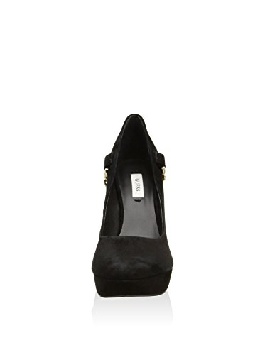 Fl1llysue08 Mod In Shoe Leilyn Scarpe Col Nero Guess Donna Camoscio Nero Suede Decolletté qwnXpzBS