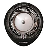 Joape 737 Cassino Commercial Misting Fan Wall Mount - Black