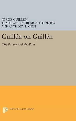 Read Online Guillén on Guillén: The Poetry and the Poet (Princeton Legacy Library) pdf epub
