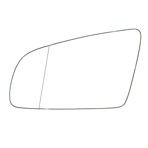 (Aulley Left Side Electric Wing Door Mirror Replacement Replacement for A3 2003-2008 Car Rearview Mirror)