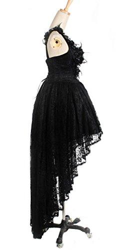 Kleid mit corsage schwarz