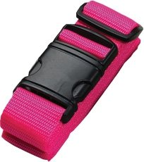 Belle Hop Neon Luggage Belt, Pink - 7430PNK (Neon Luggage Straps)