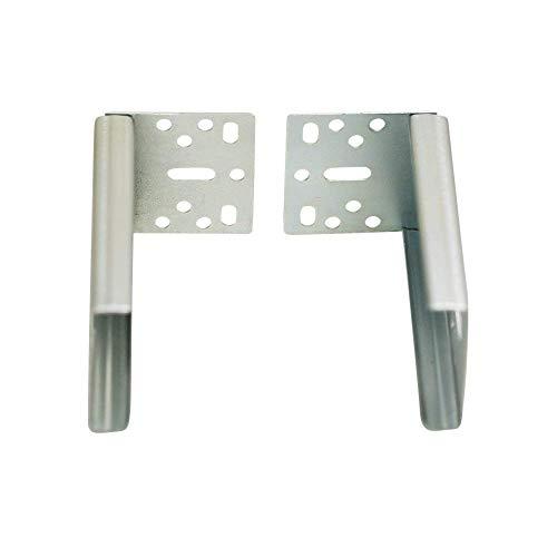 Drawer Slide Holders - Decorite - 45mm Ball Bearing Drawer Slide - 100 Pound - Full Ext. - Side Mount - Pair (Back Socket)