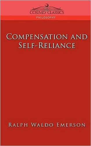 compensation and self reliance  cosimo classics philosophy   ralph    compensation and self reliance  cosimo classics philosophy   ralph waldo emerson      amazon com  books