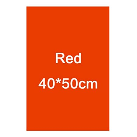 FidgetFidget Colors Lighting Filter Gel Sheets 16'x20 for Video Camera Studio Photograpgy Red