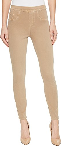 SPANX Women's Cut & Sew Cropped Knit Leggings Khaki Small (Ladies Mesh Knit Pant)