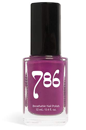 - 786 Cosmetics Shiraz - (Purple) Vegan Nail Polish, Cruelty-Free, 11-Free, Halal Nail Polish, Fast-Drying Nail Polish, Best Purple Nail Polish