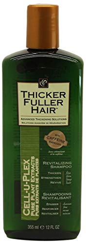 Thicker Fuller Hair Revitalizing Shampoo, 12 Ounce (Thicker Fuller Hair Revitalizing Shampoo)