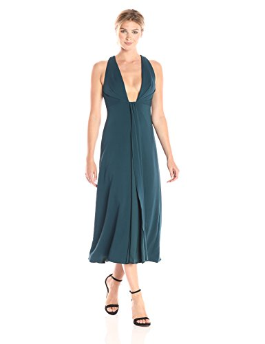 ml-monique-lhuillier-womens-plunging-neckline-midi-dress-deep-teal-8