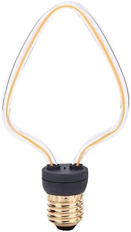 Cikonielf Terrario L/ámpara de Calor en Forma de U Bombilla de luz LED L/ámpara de filamento Triangular Luces c/álidas para Reptiles Anfibios