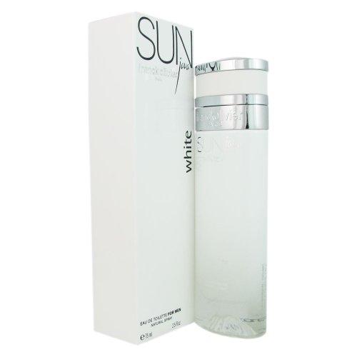 (Frank Olivier Sun Java Eau de Toilette Spray for Men, White, 2.5 Ounce)