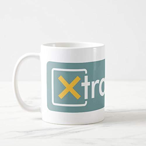 Funny XtraMath Large Logo Mug 11oz Funny Gift Mug