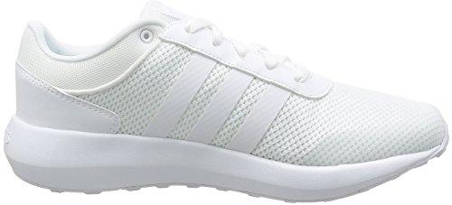 Hommes Ftwbla Ftwbla Pour Baskets Cloudfoam ftwbla Adidas Blancs Race wgITIqB