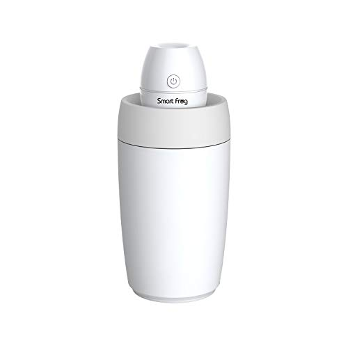 Multifunctional Portable Mini Humidifier USB Cool Mist Humidifier with Water Bottle Premium Humidifying Unit with Whisper-Quiet Operation Automatic Shut-Off Multi Use for Travel Home Office Bedroom