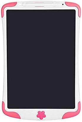 LKJASDHL 8.5インチの子供のLCDタブレットLcdライト電子手の絵板黒板落書き強調ライティングボードブギーボード (色 : ピンク)