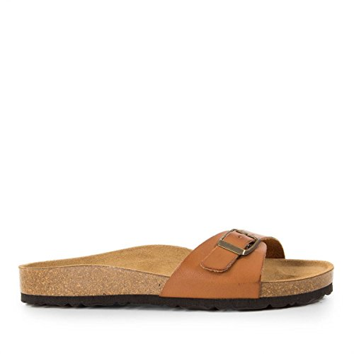 Marron Caballero 36 Mules Marron LAND WHY Femme Tan Hwq0WI1