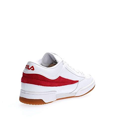 42 White Mid T1 Uomo Fila 1010496 Sneakers aq0AAC
