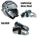 Lightning SILVER Karate Sparring Gear Package Deal - Child Small