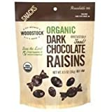 Woodstock Farms Organic Dark Chocolate Raisin, 8.5 Ounce - 8 per case.