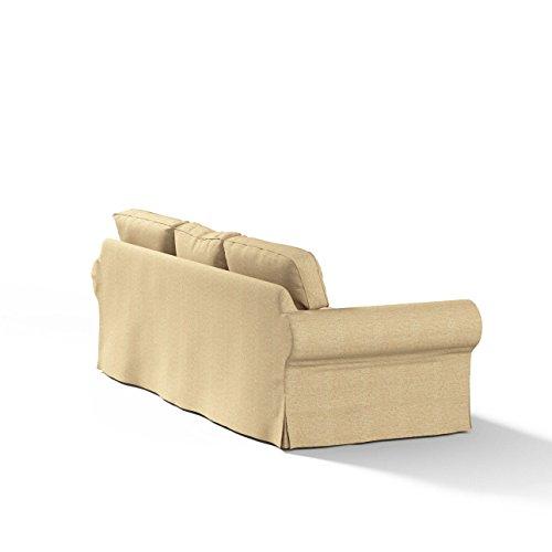 Dekoria rivestimento per divano ektorp a 3 posti non apribile rivestimento per divano - Rivestimento divano ikea ...
