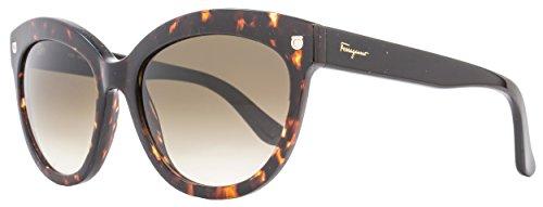 Salvatore Ferragamo Sunglasses SF675S 214 Tortoise 55 18 - Sunglasses Designer Salvatore Ferragamo