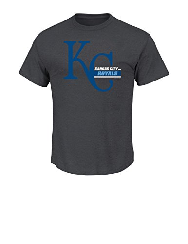 (MLB Kansas City Royals Men's This Is My Team Tee, Medium, Charcoal Heather)