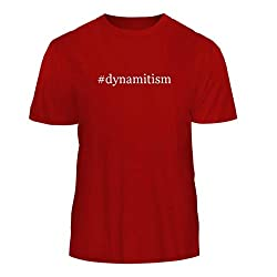 Tracy Gifts #Dynamitism - Hashtag Nice Men's Short Sleeve T-Shirt, Red, X-Large