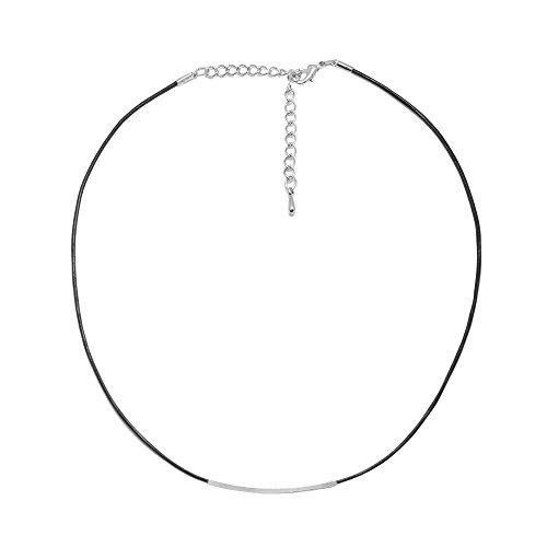 Spinningdaisy Skinny Choker Sliding Necklace