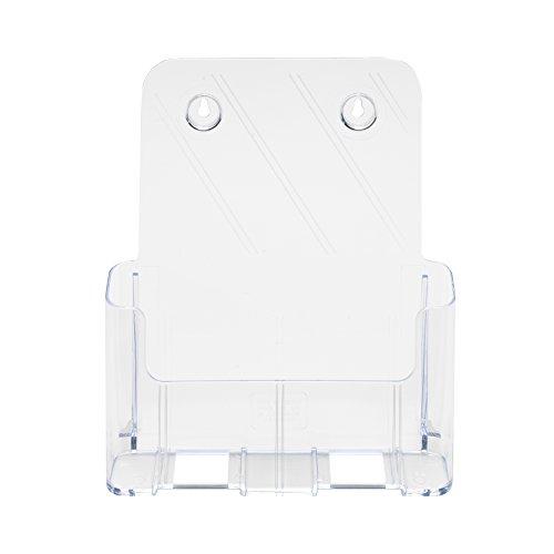 Deflecto Single Compartment Literature Holder, Magazine Size, 9-1/4 x 10-3/4 x 3-3/4 Inches (77001) Photo #2