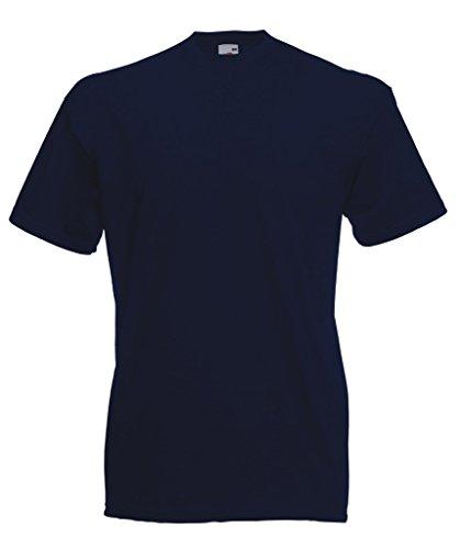 Fruit of the Loom - Lote de 10 camisetas azul - azul