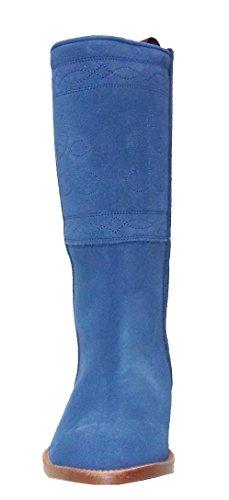 blue Women's Boots Azul es blue 600af botosvalverde 6xTzn8w