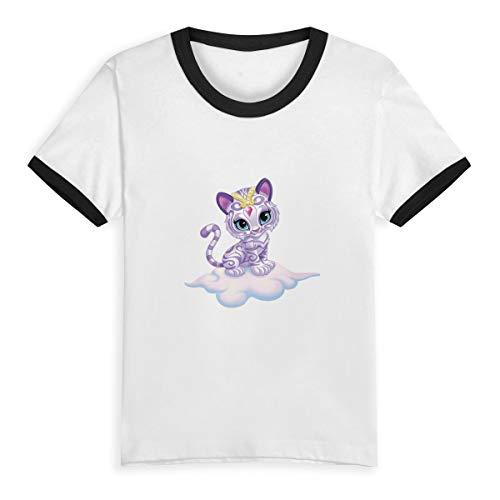 (Shimmer and Shine Cat Kids Short Sleeve Tee Short T Shirts)