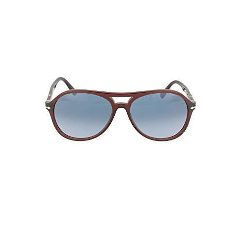 59 Trasparent 1075q8 Gradient Po3194s 1075q8 Po3194s Azure Brown Frame Persol Sunglasses 59 4OqFawxt
