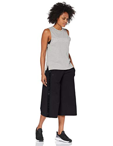 Featherweight Capri Under Crop Fleece Mujer 001 Negro Armour Leggings FqTwf5TZS