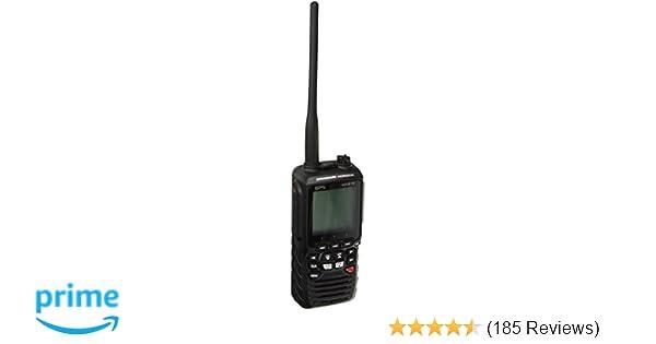 amazon com standard horizon hx870 floating 6w handheld vhf with rh amazon com
