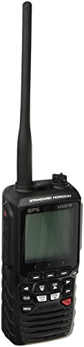 STANDARD HORIZON HX870 Floating 6W Handheld VHF with Internal GPS, Black