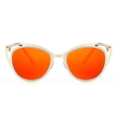 verres cadre Unisexe Meisijia soleil Ooutdoor de de métallique lunettes coloré Lunettes lunettes 5 polarisées qpwFa8w
